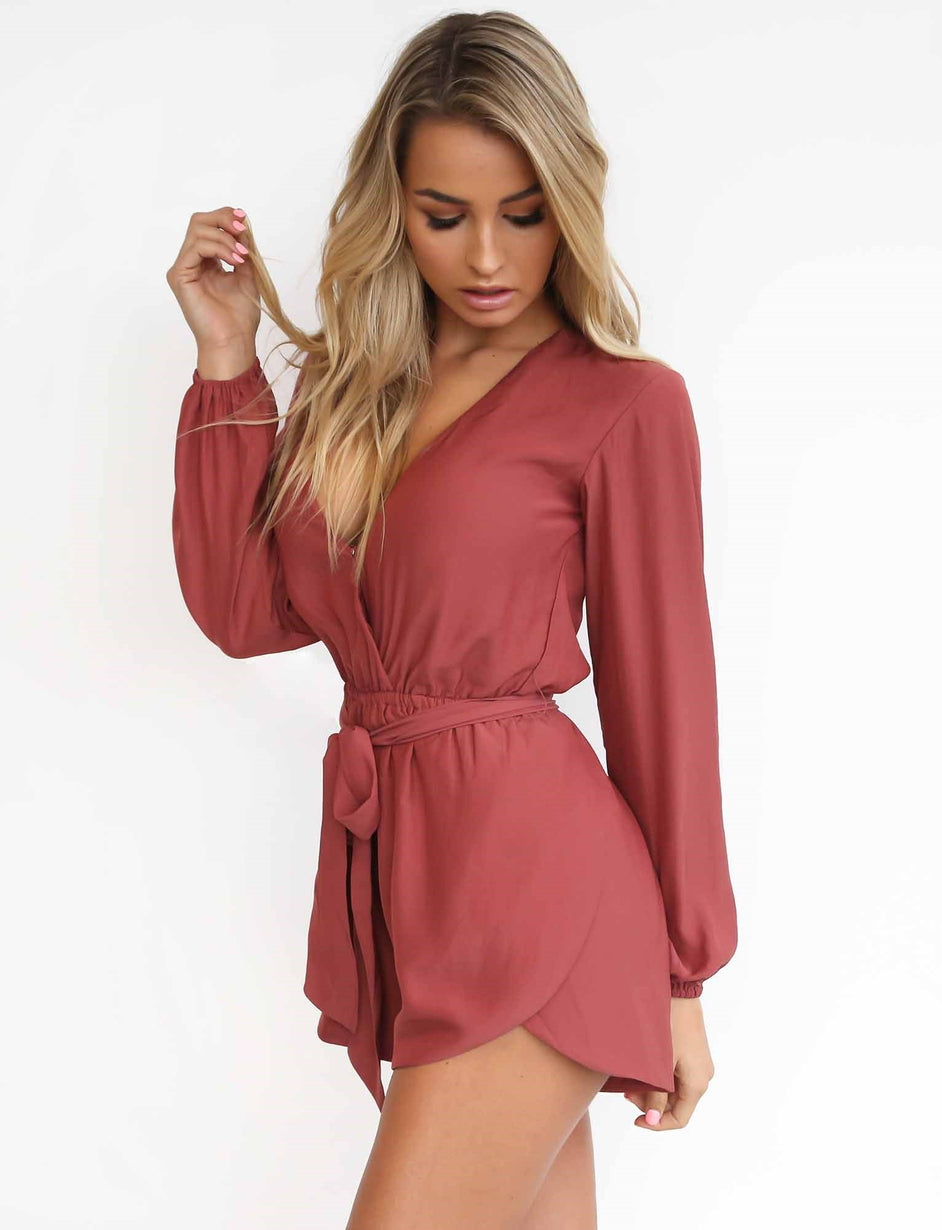 Love All Playsuit - Rose