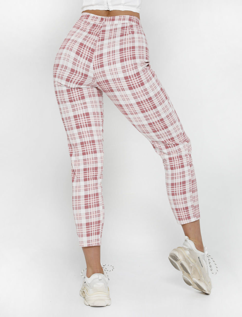 Frankie Pant - Pink Check