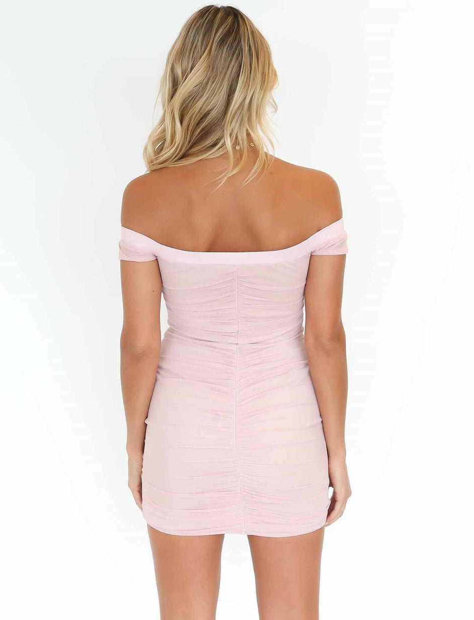 Rush Hour Dress - Blush
