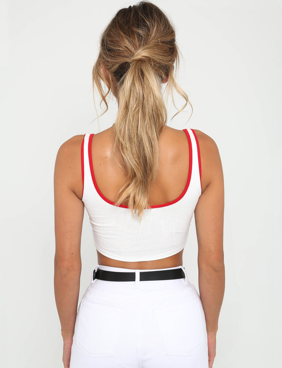 Everyday Basic Top - White