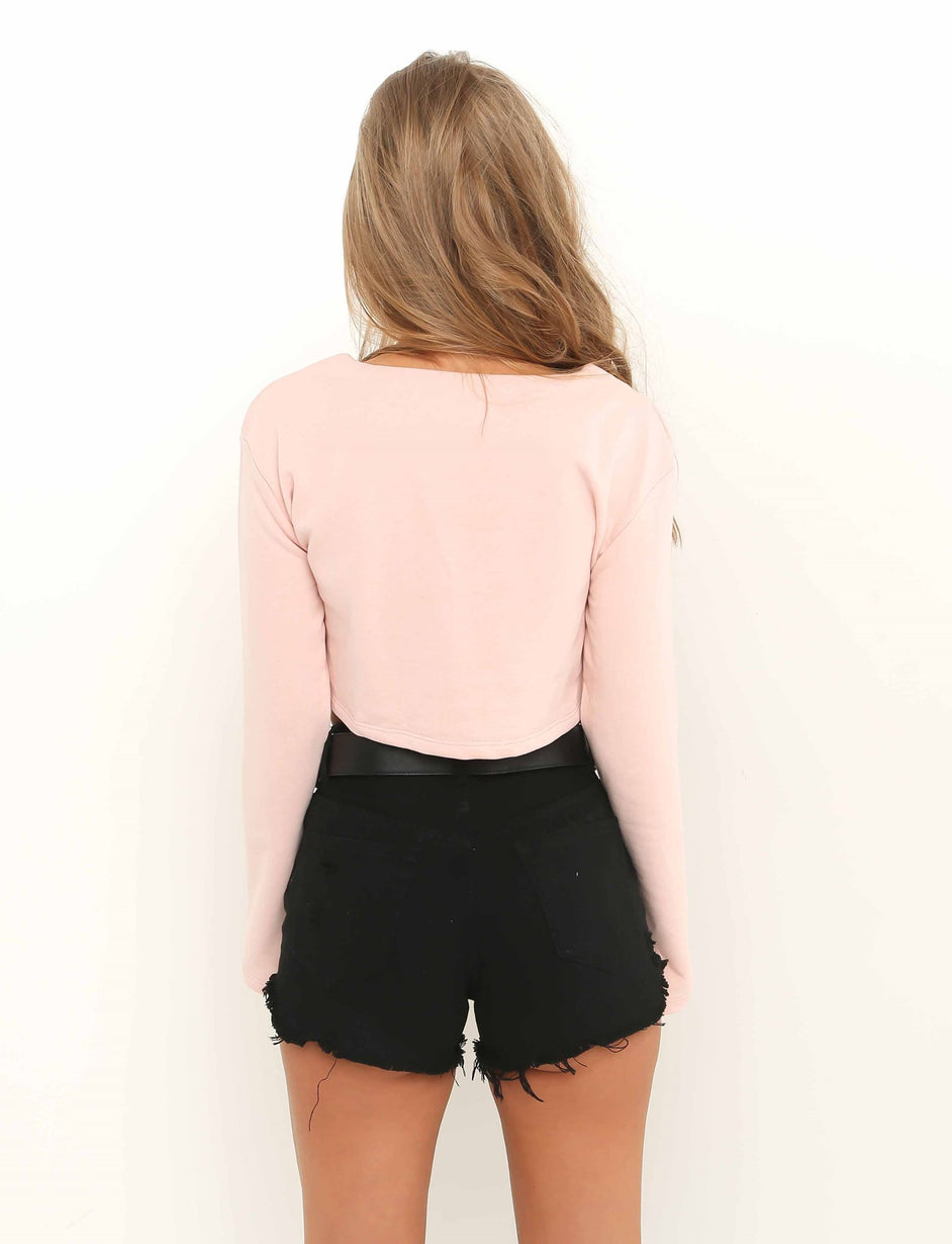 Madeleine Long Sleeve Top - Pink