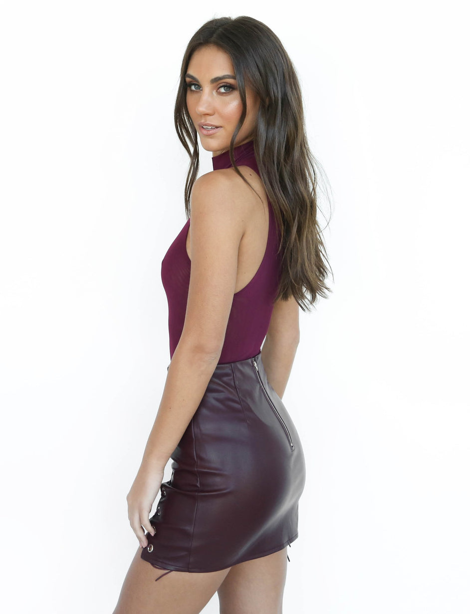 Avalon Skirt - Plum