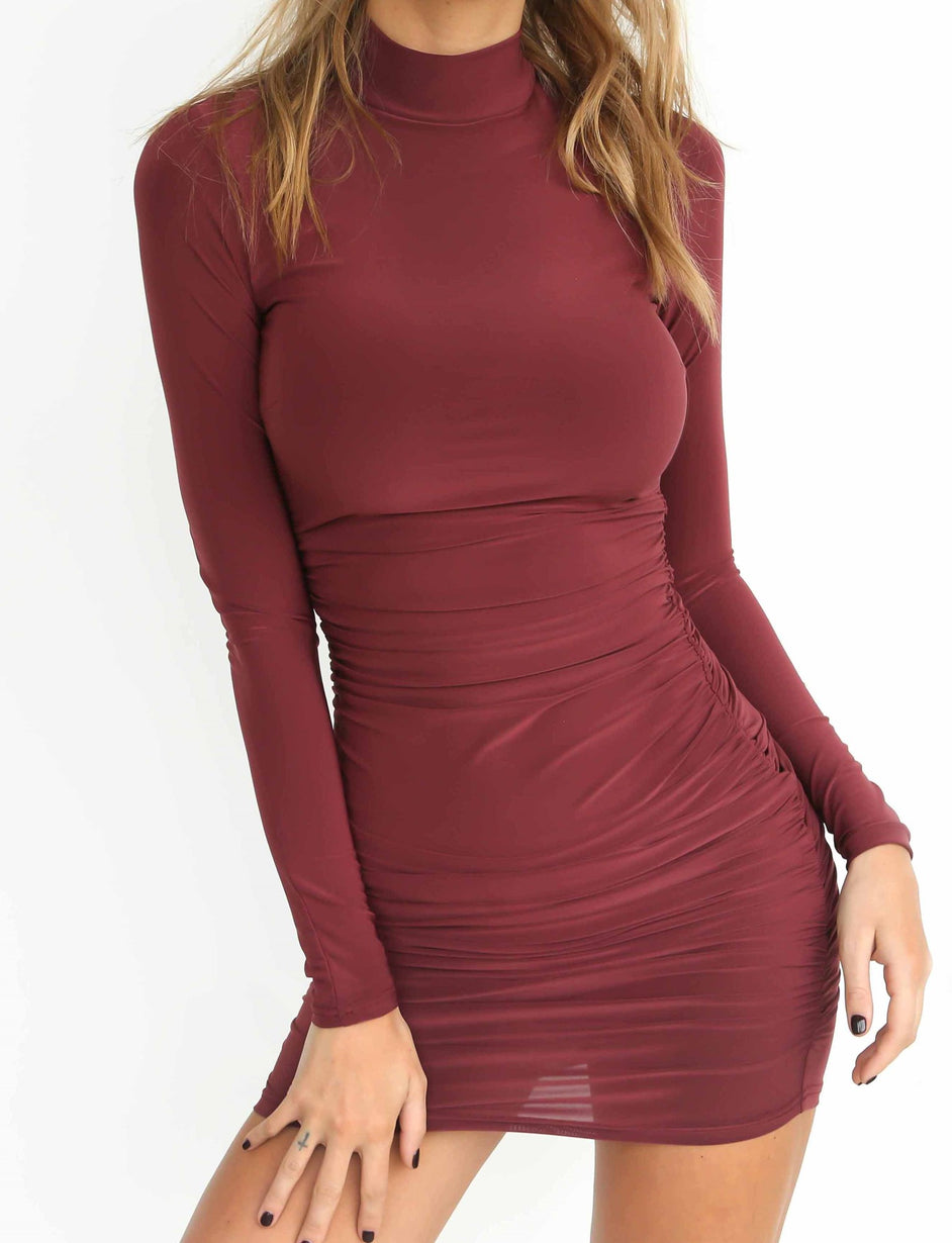 Bridget Dress - Plum
