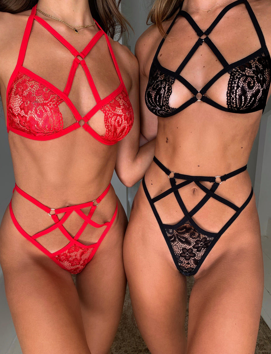 ZIVA SET - RED