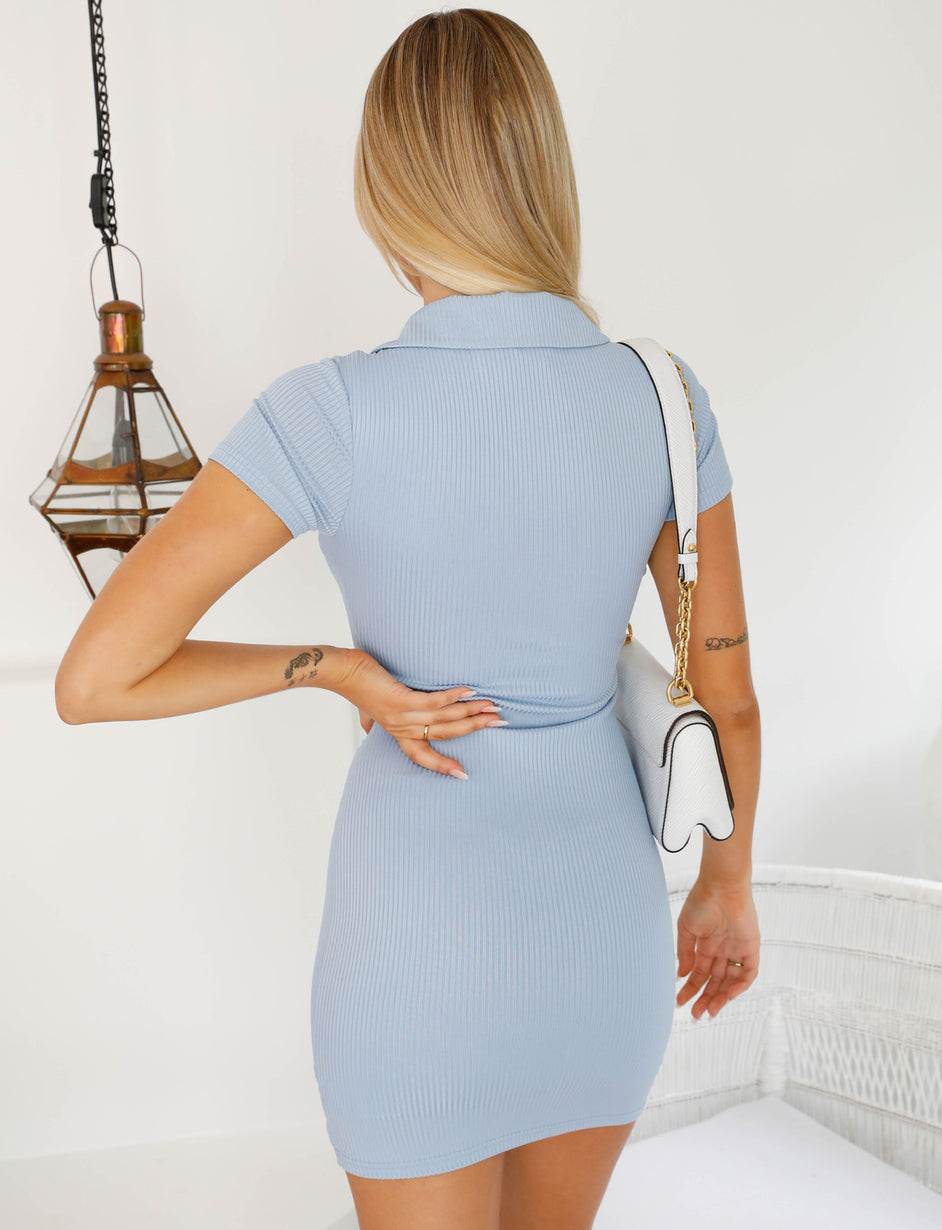 SOMMERS DRESS - BLUE