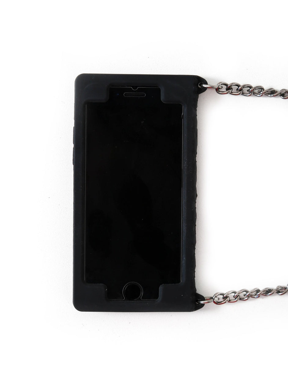 Gia Chain Iphone 7 Case - Black