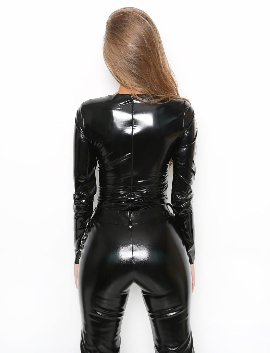 Ain Bodysuit - Black