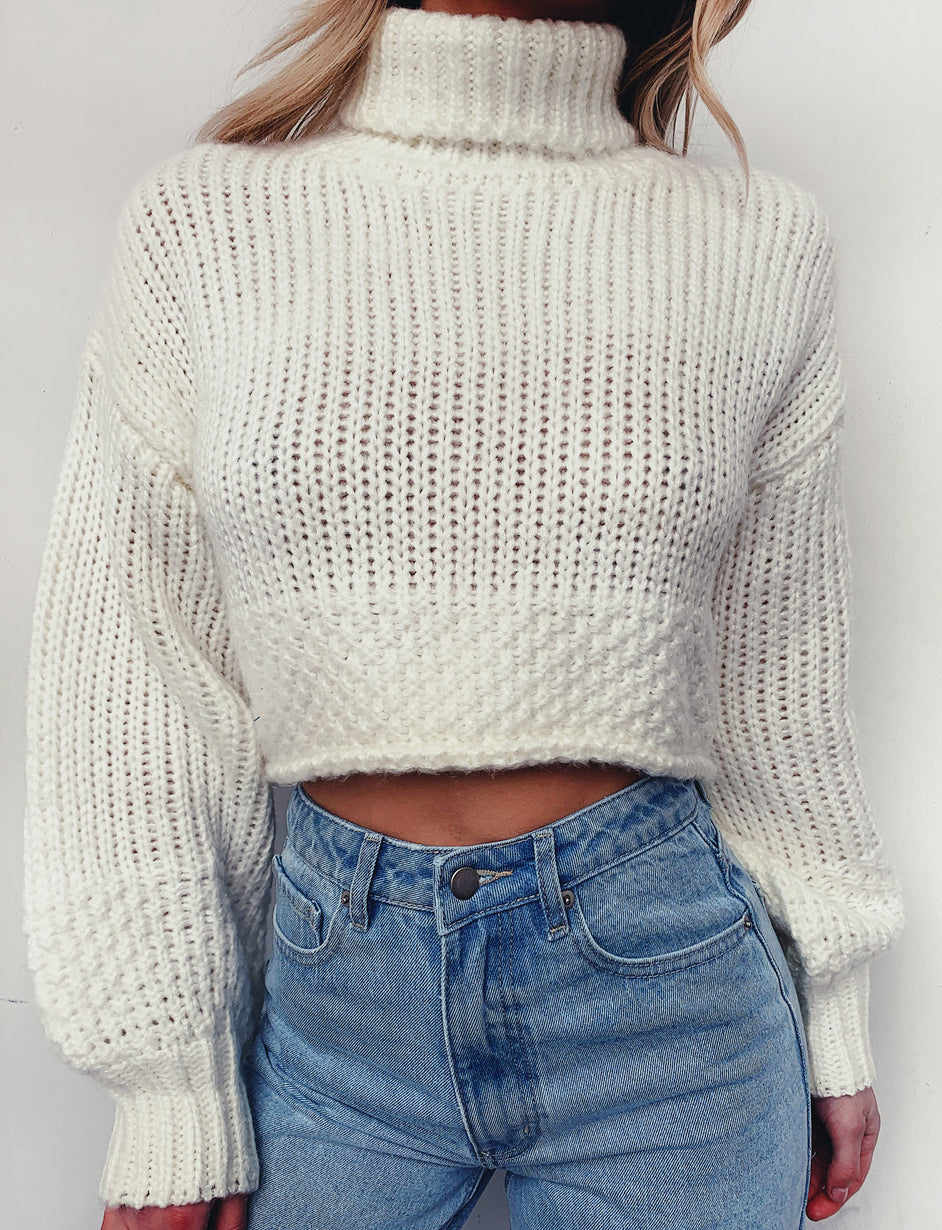 Leonardo Knit Jumper - Cream