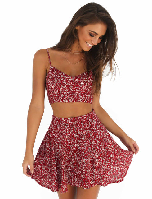 Cherry Bomb Two Piece - Red
