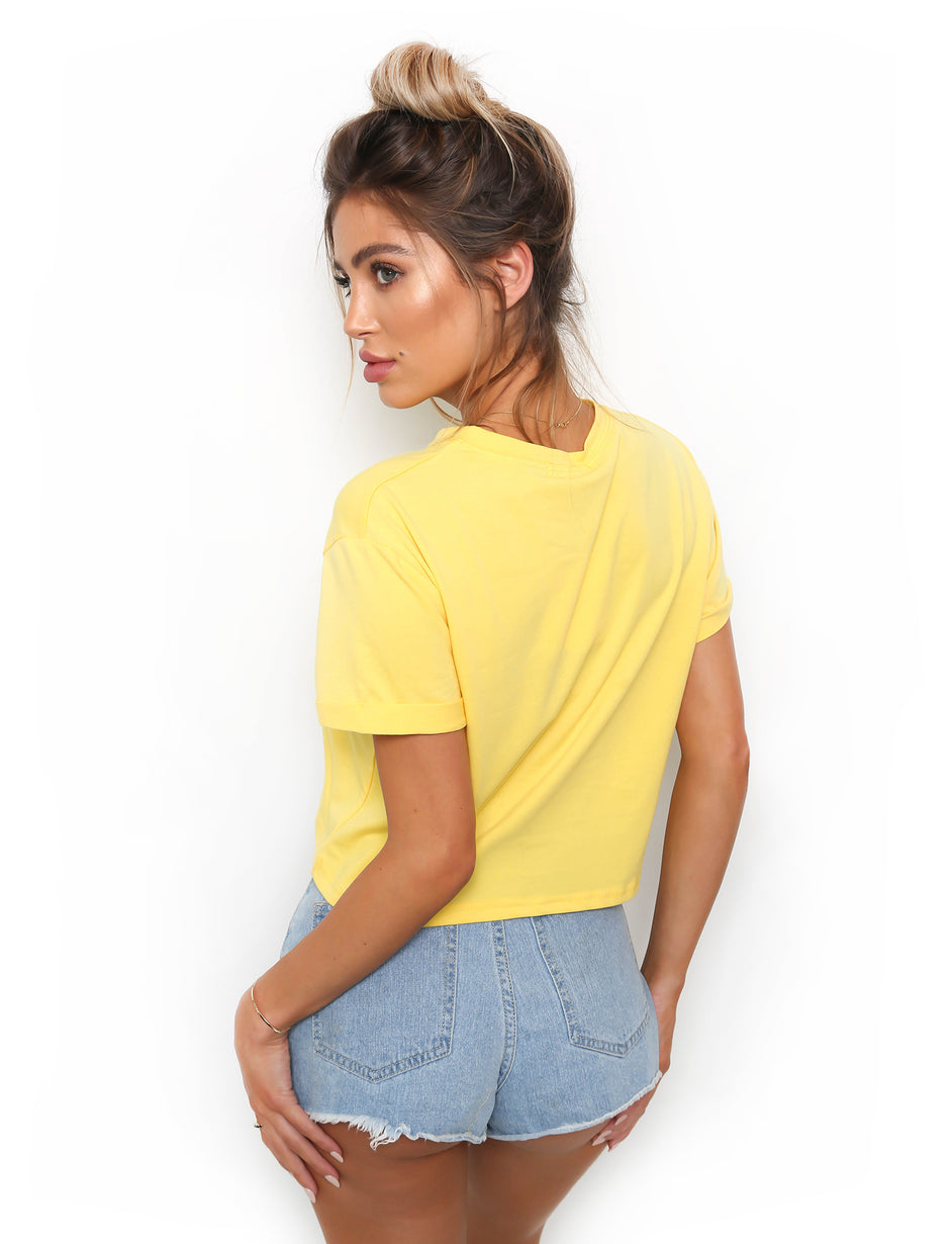 Sunshine Tee - Yellow