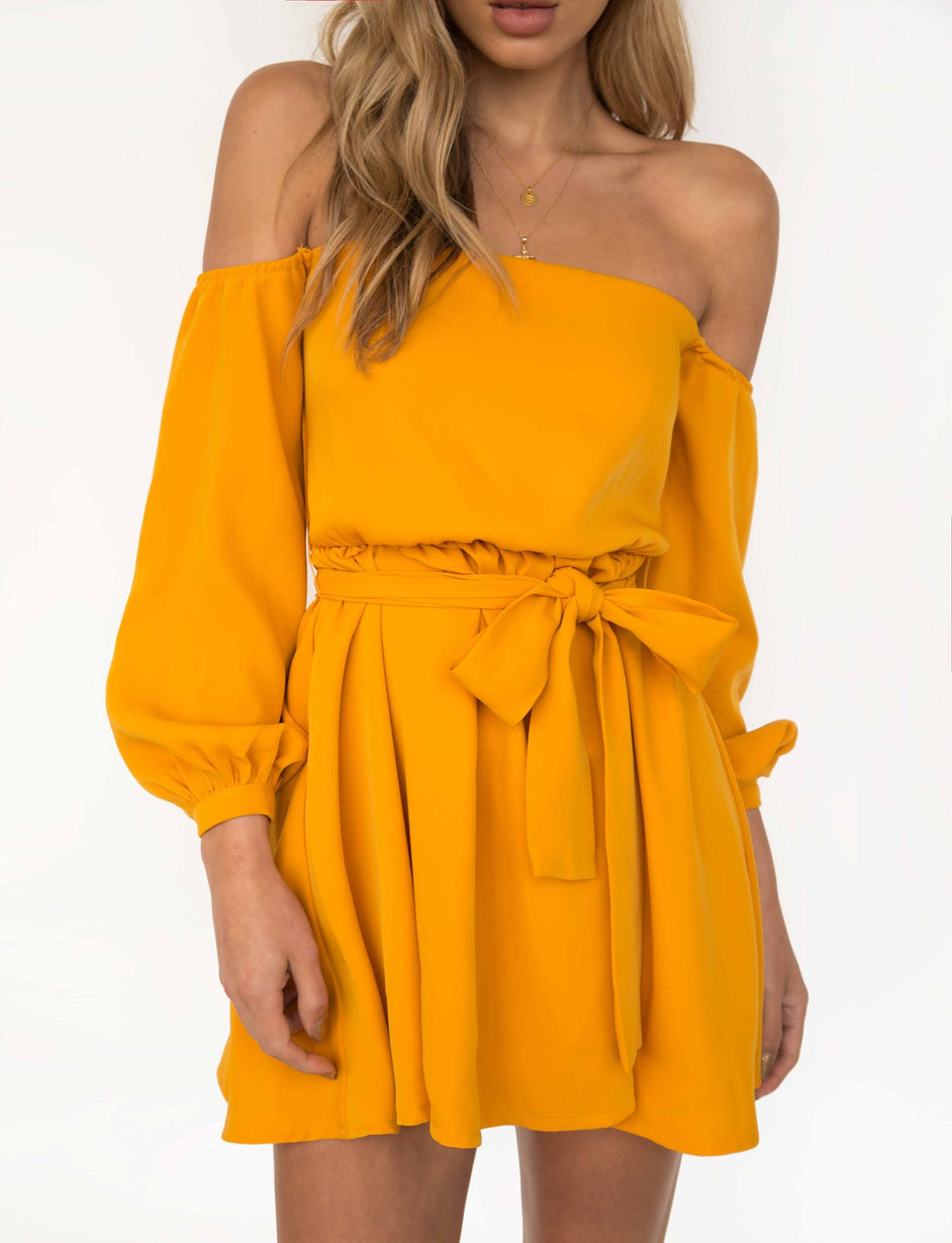 Luna Dress - Yellow