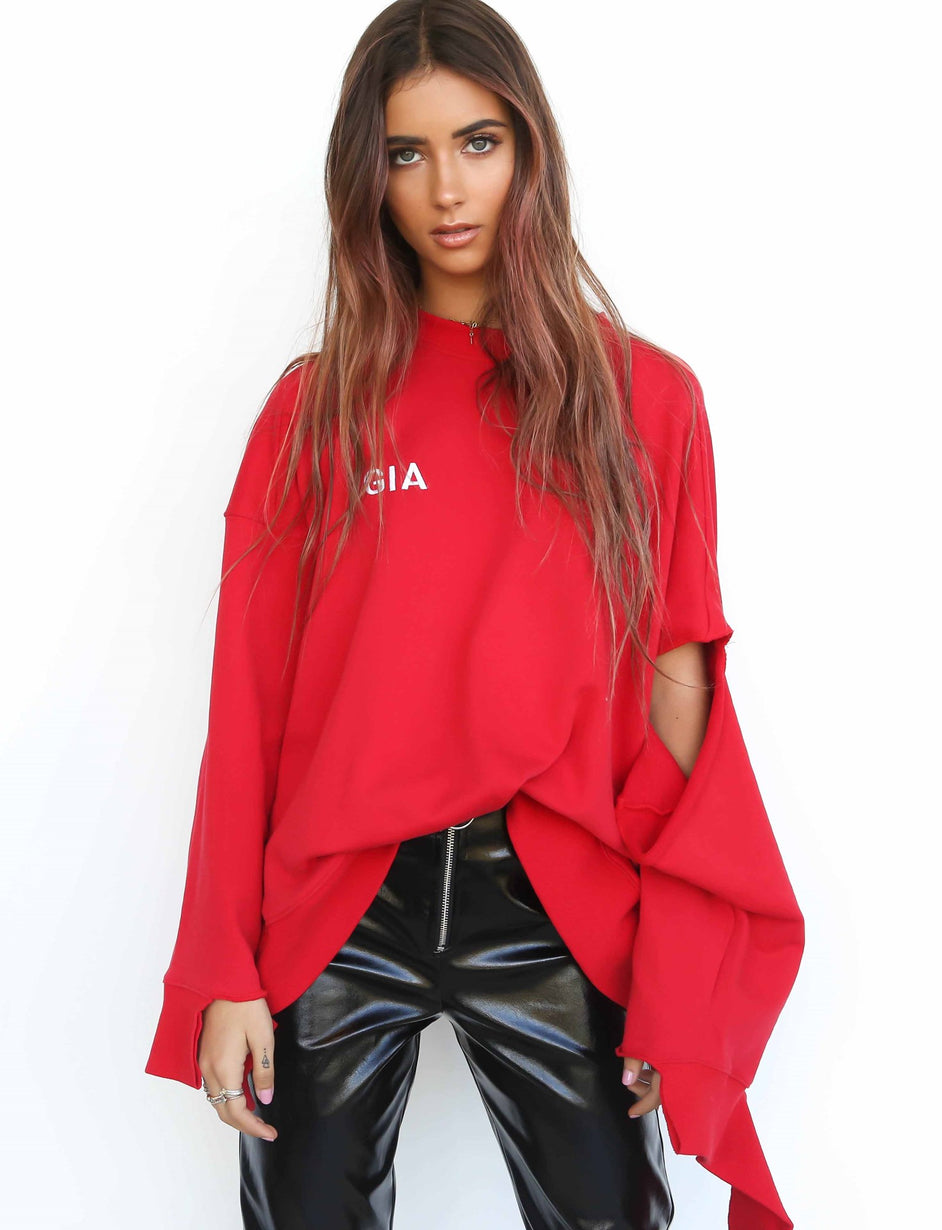 Sofia Jumper - Red