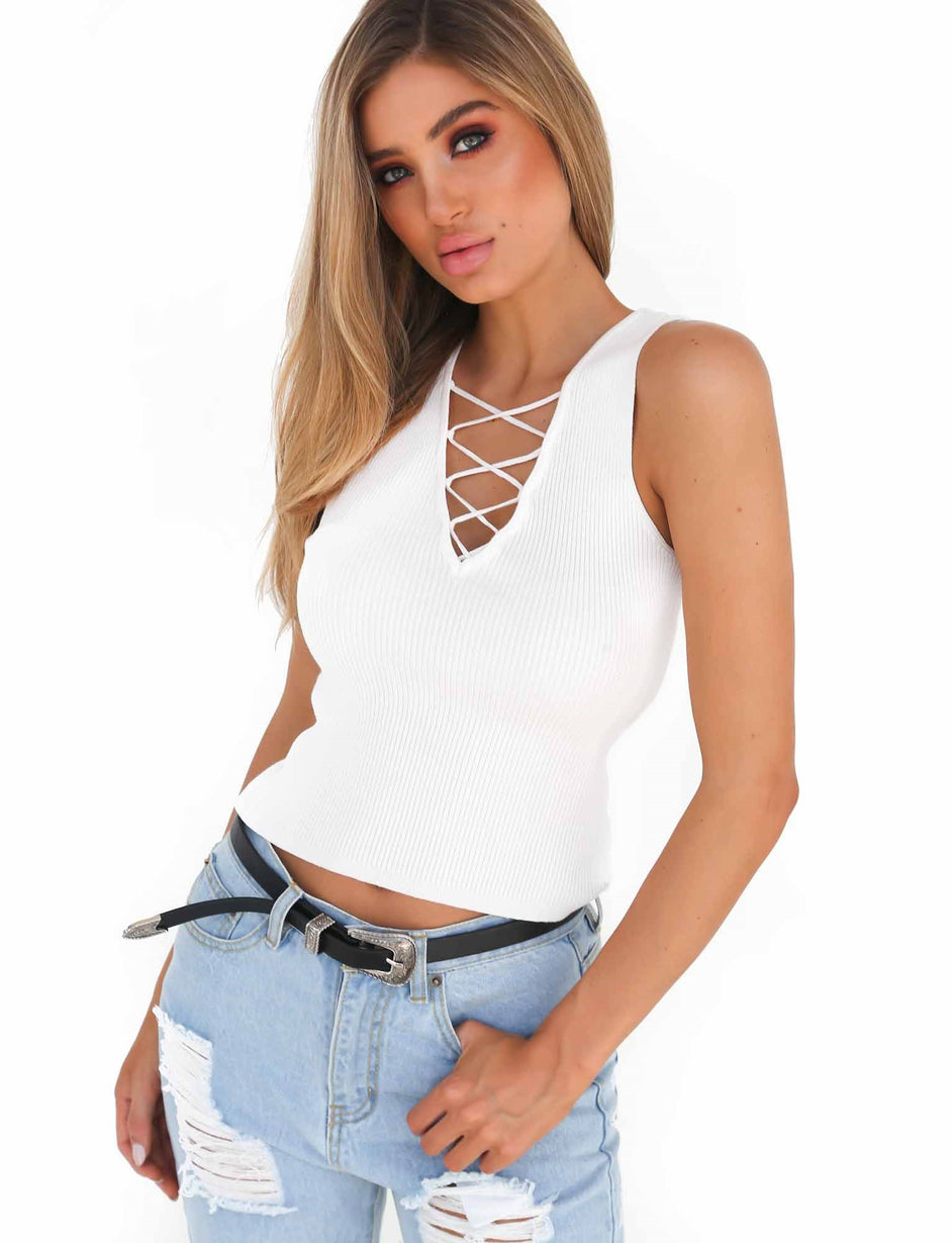The Ivy Top - White