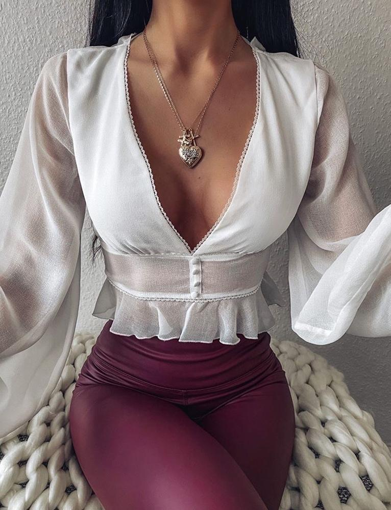 Bernadette Top - White