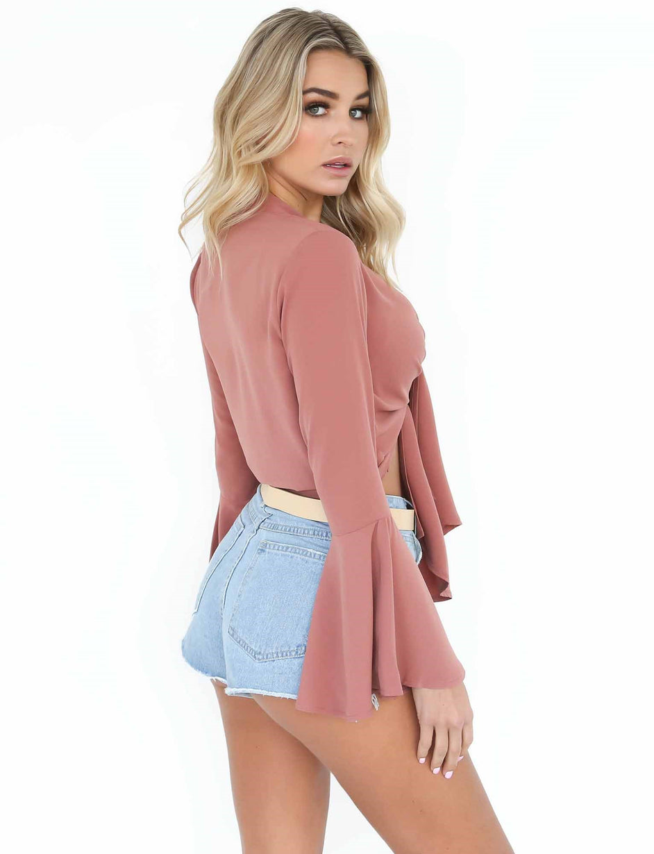 Kaylee Top - Rose