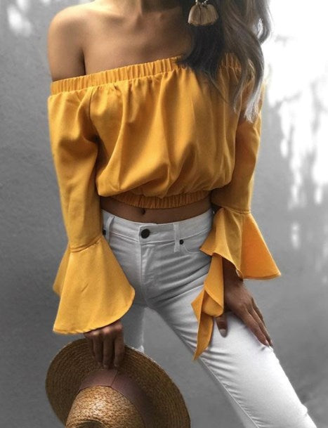 Field Day Top - Yellow