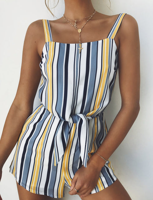 Beautiful Girl Playsuit - Stripe