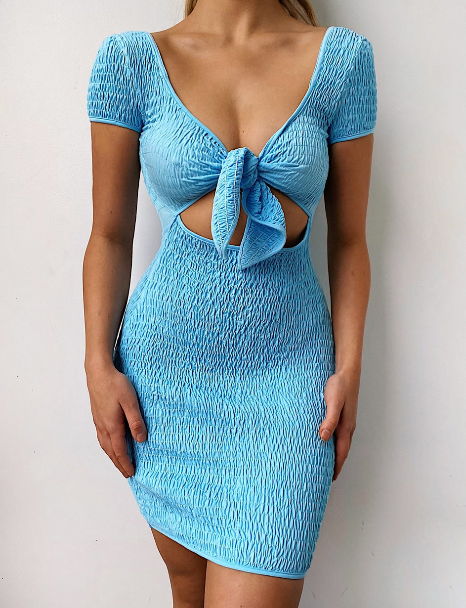 Santiago Dress - Blue