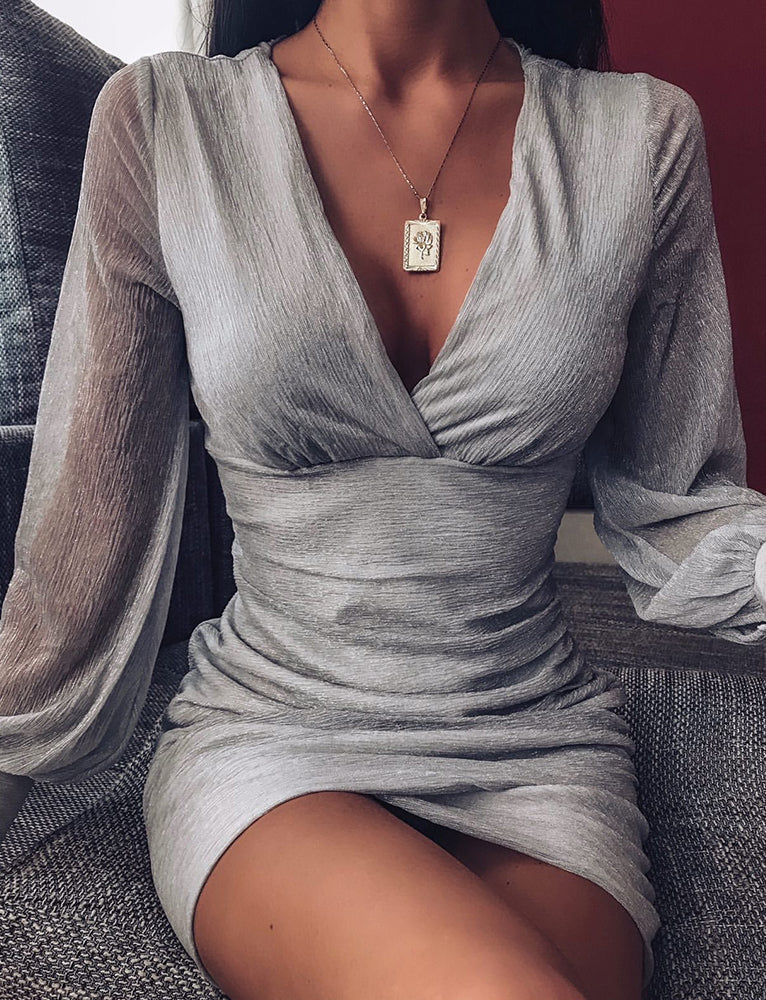 Coby Dress - Silver
