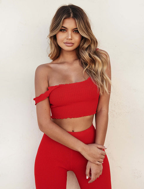 Ruby Top - Red