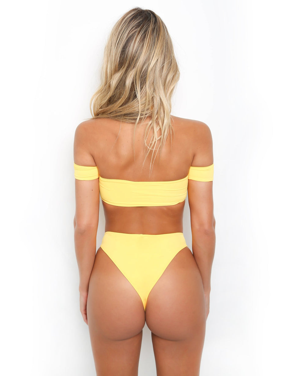 Crawford Bottoms - Yellow