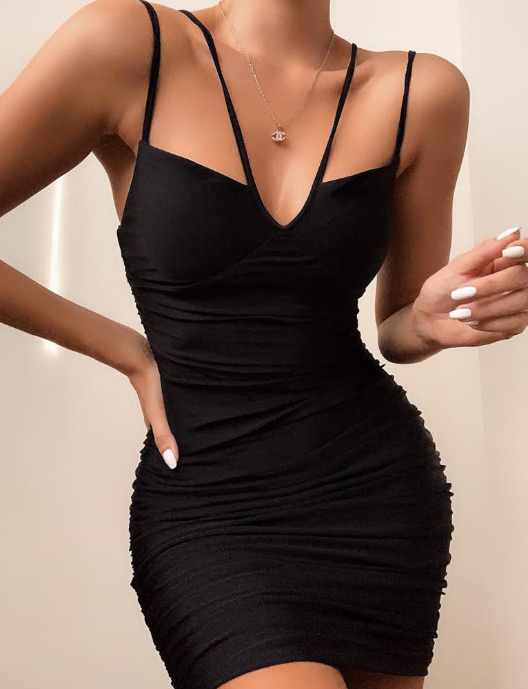 Zurich Dress - Black