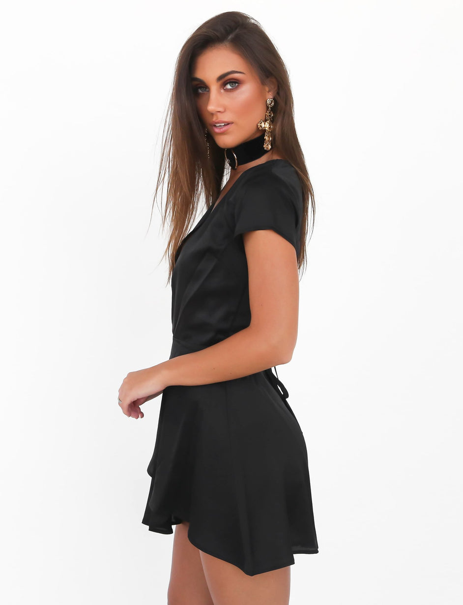 See Clearly Dress - Black