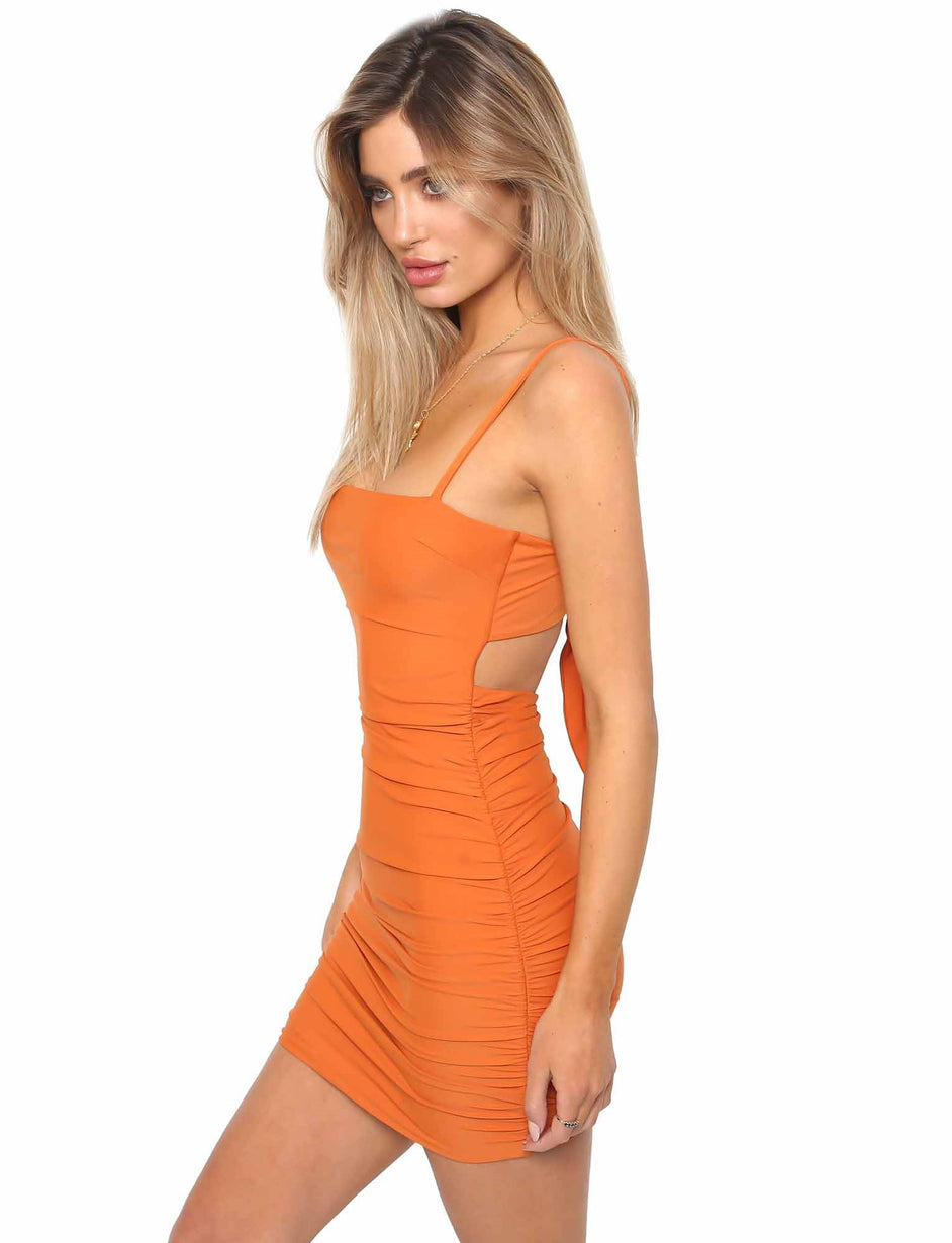 Sunrise Dress - Orange