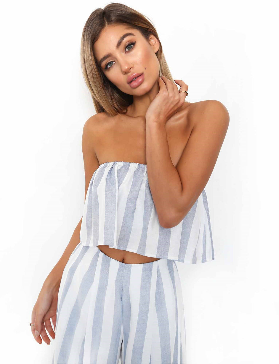 Acqua Two Piece - Blue