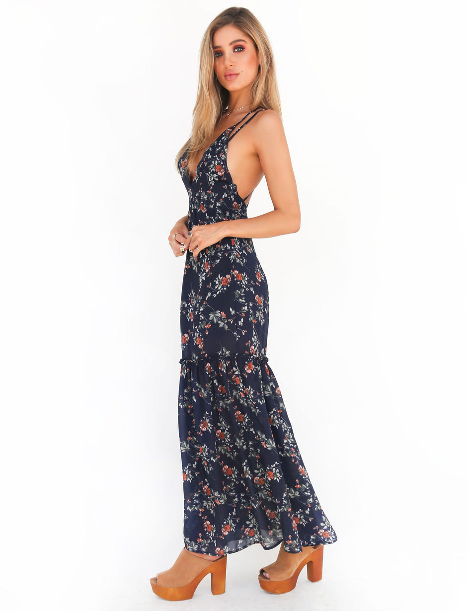 I Like It Dress - Navy