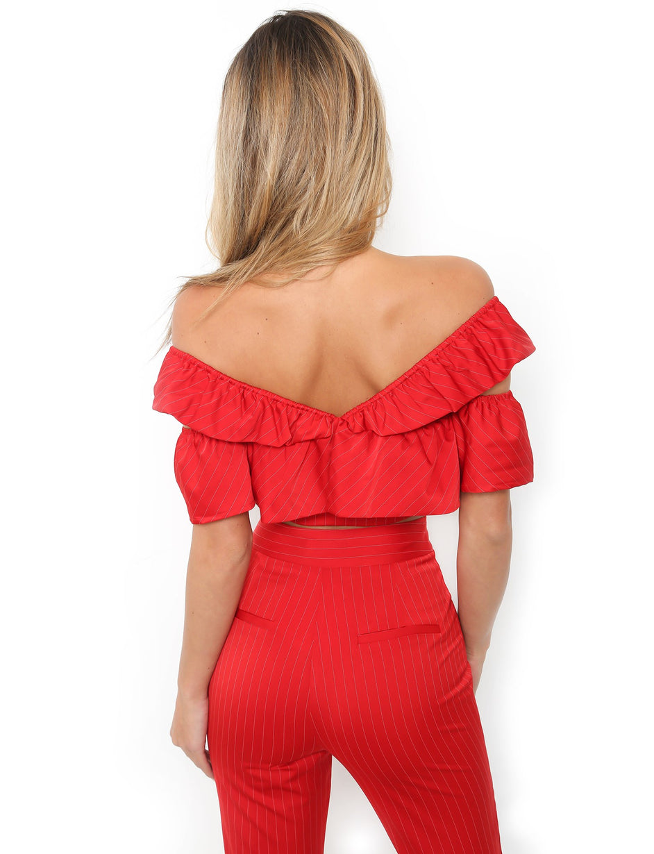 Simmi Top - Red