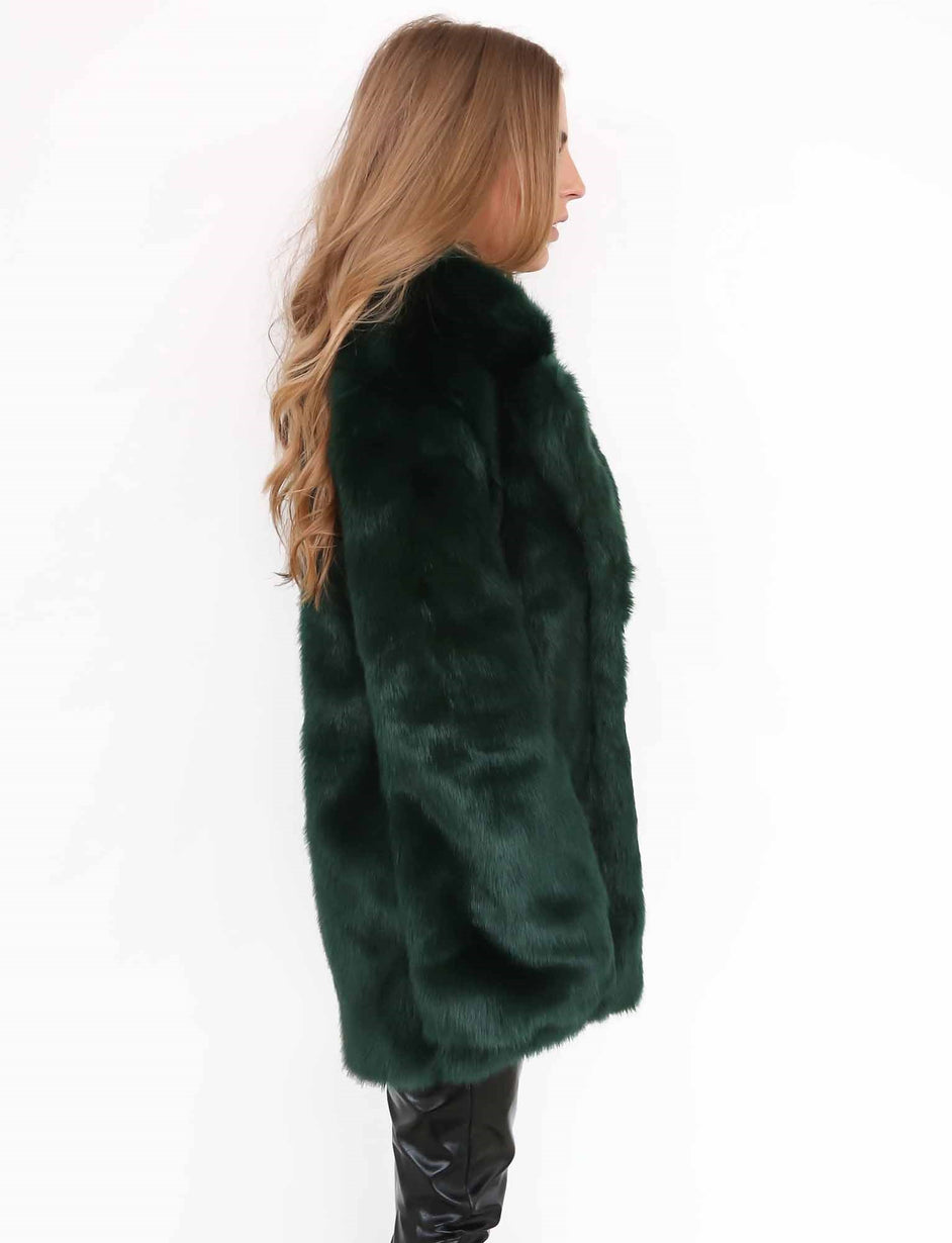 Kaya Jacket - Emerald Green