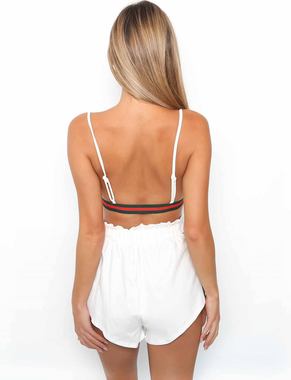 Bandit Short - White