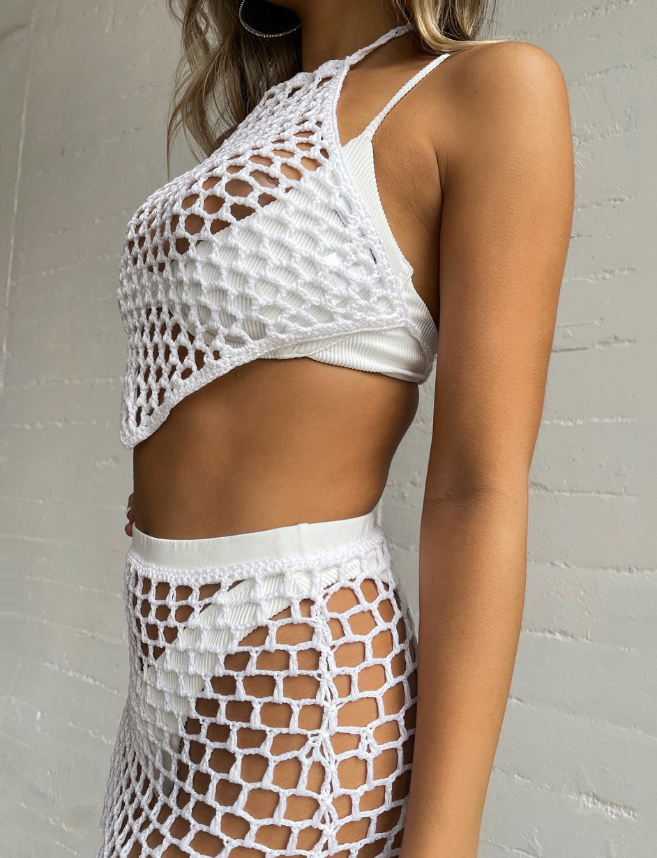ALEJANDRO SKIRT - WHITE