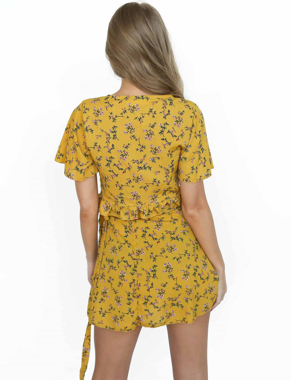 Delilahs Song Two Piece - Mustard
