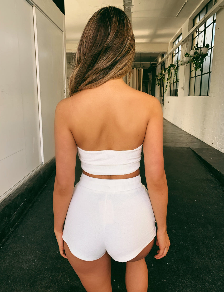 Estee Short - White