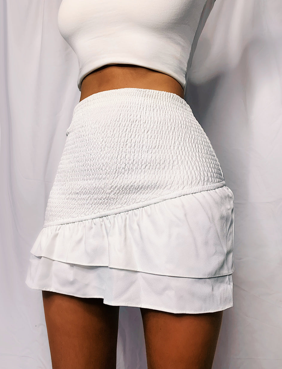Benita Skirt - White