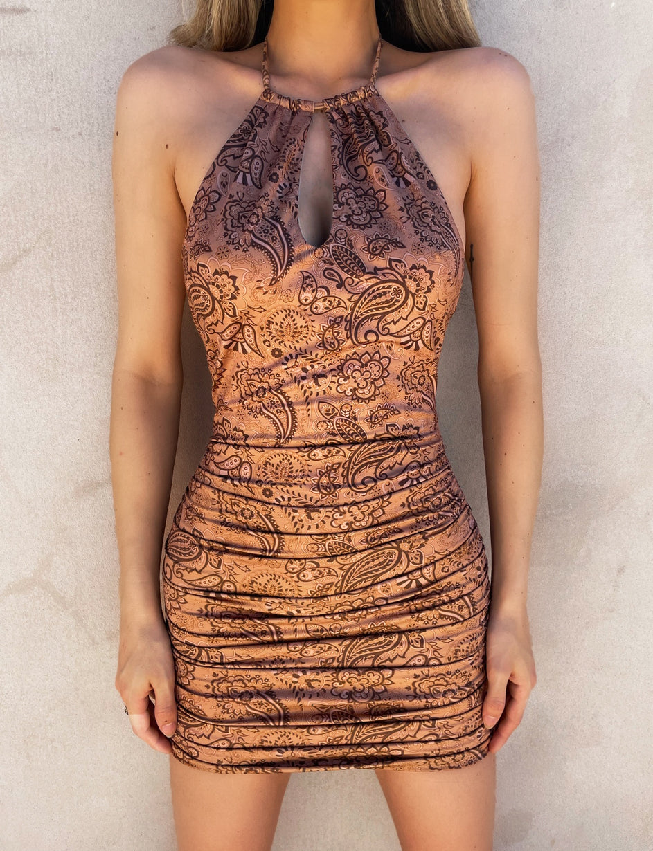 BILLEY DRESS - PAISLEY