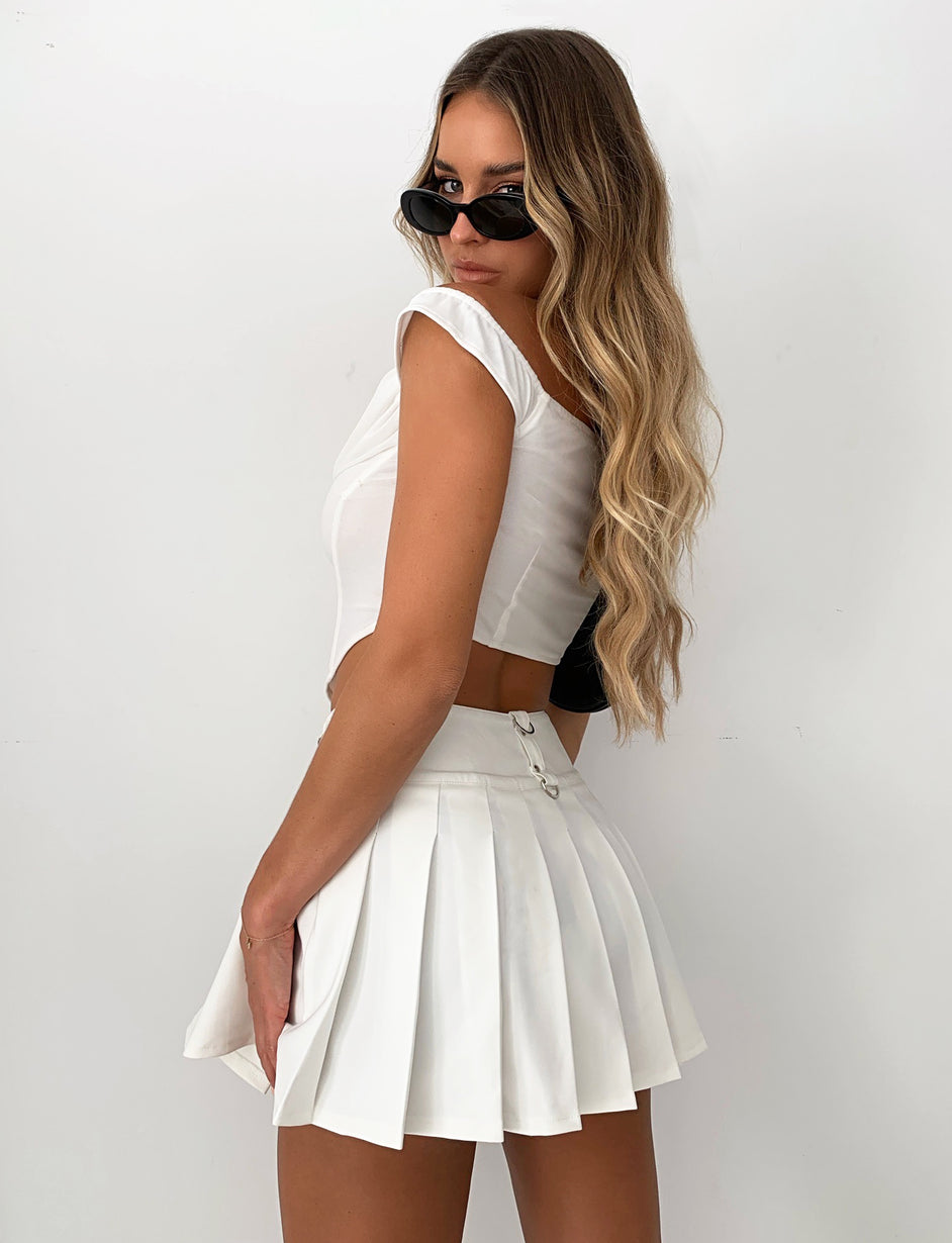 DARCEY SKIRT - WHITE