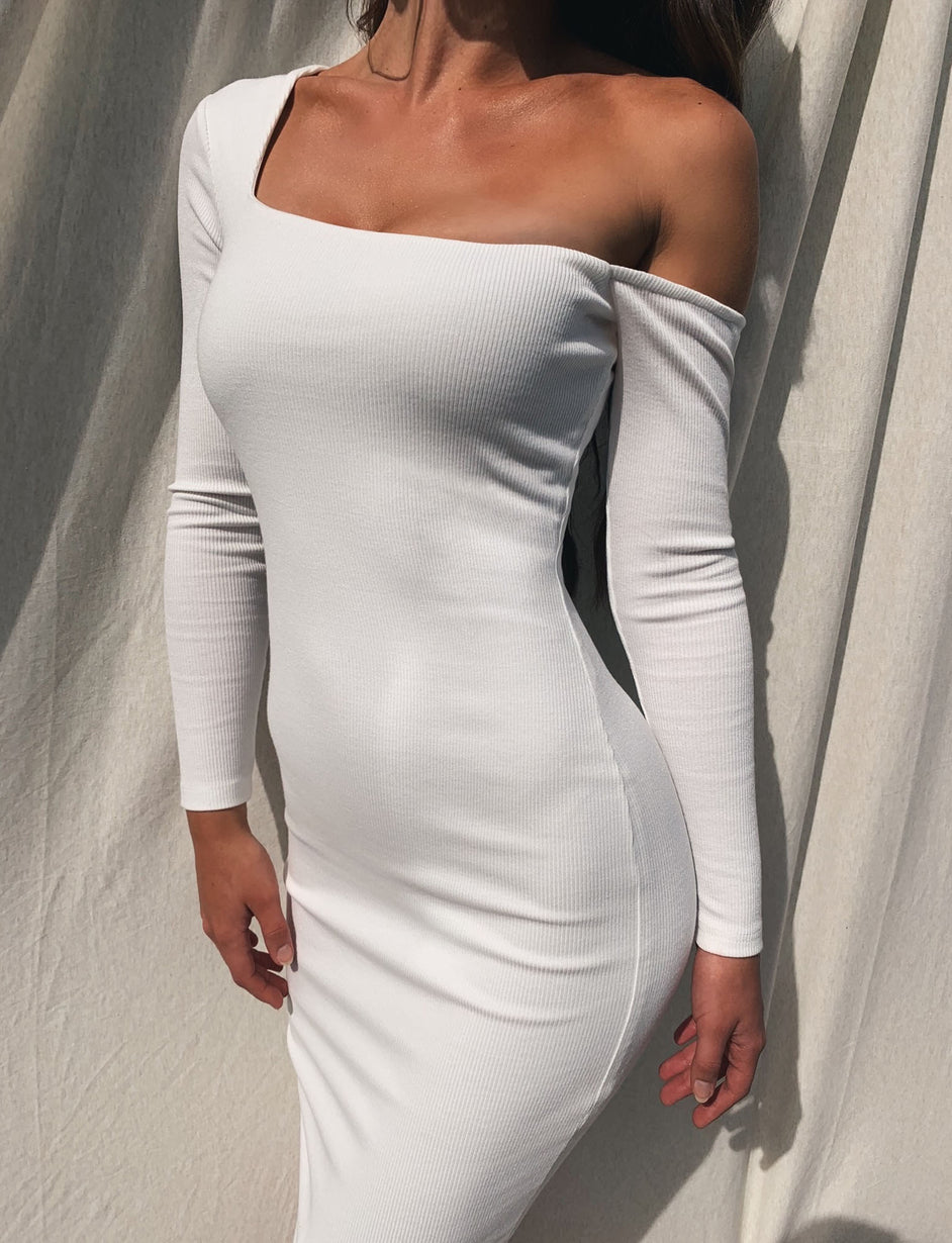 Corbin Dress - White