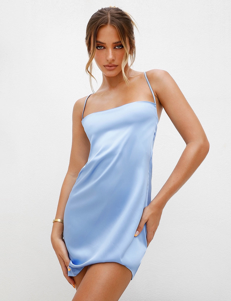 BRIDGETTE DRESS - BLUE