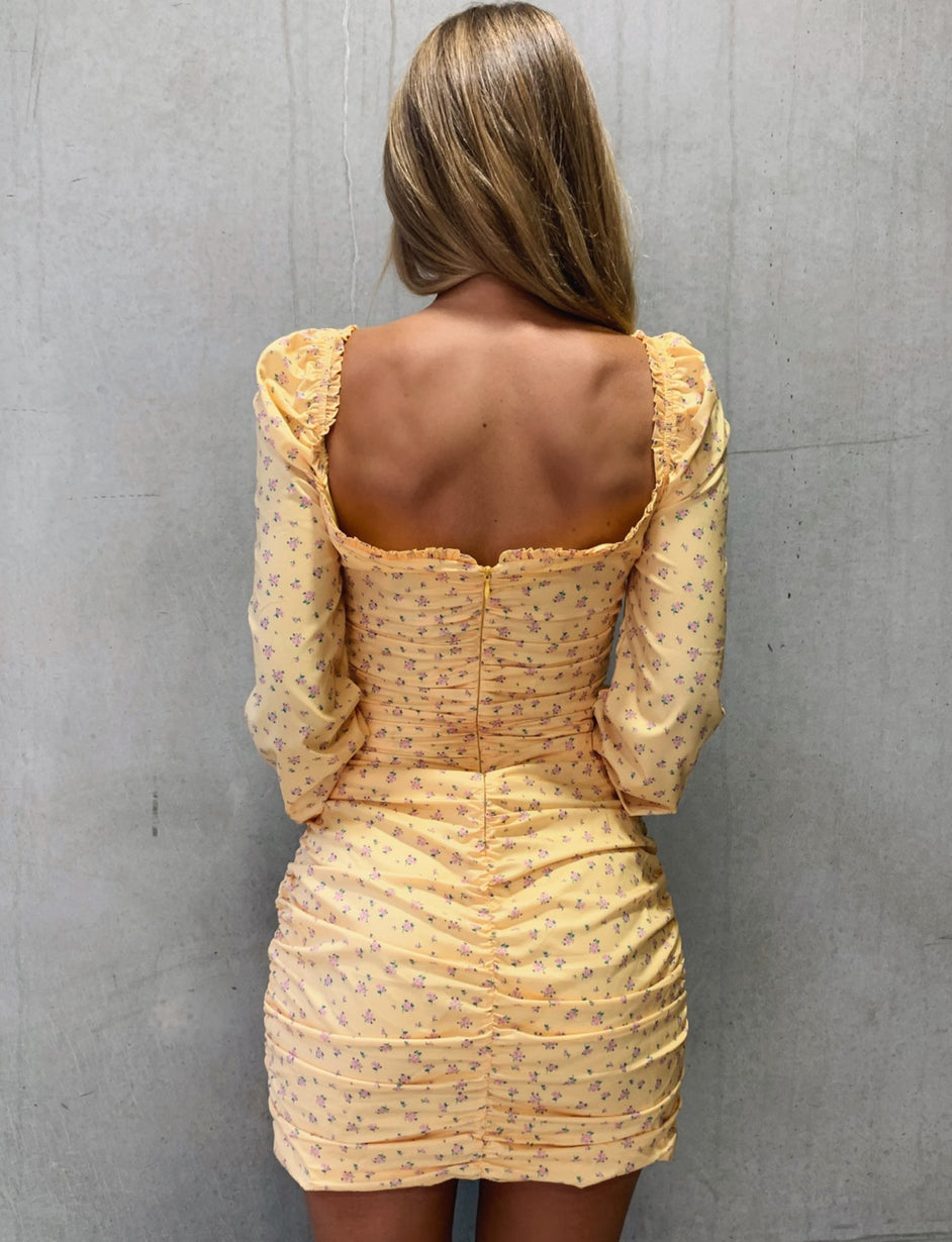 Penny Dress - Yellow