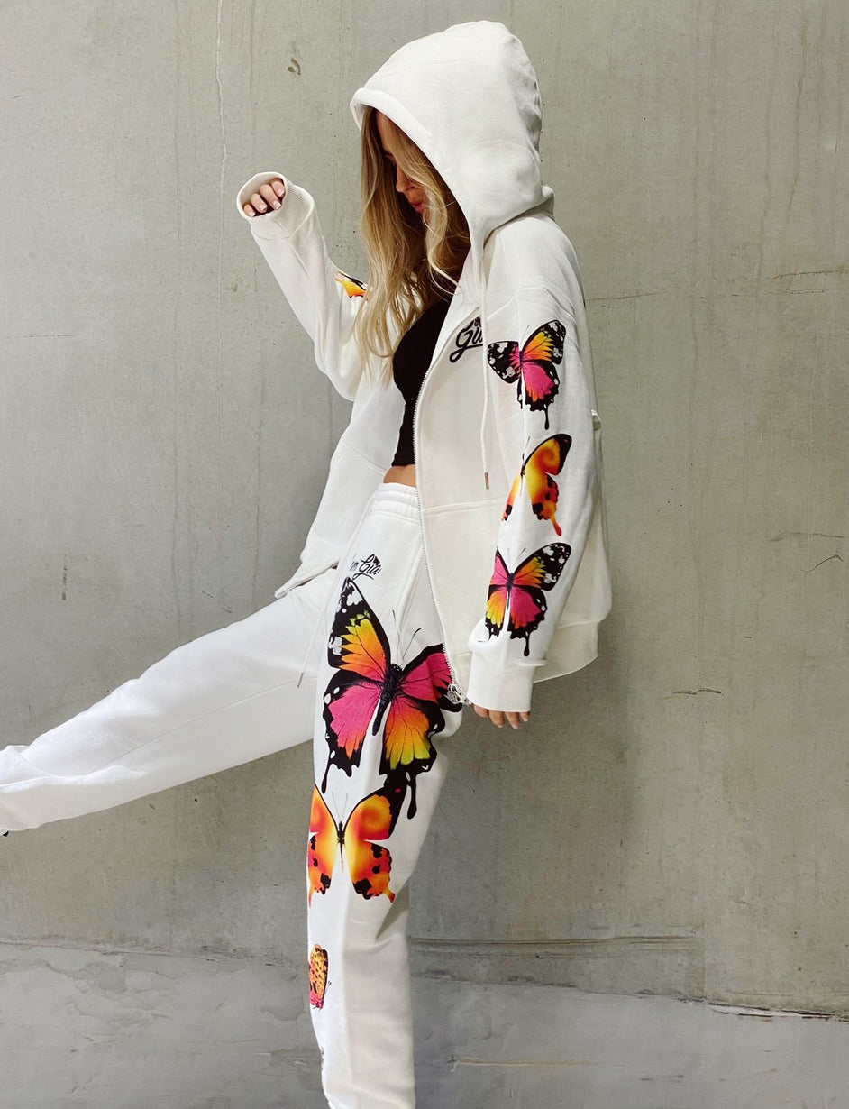 Aporia Pant - Butterfly Print