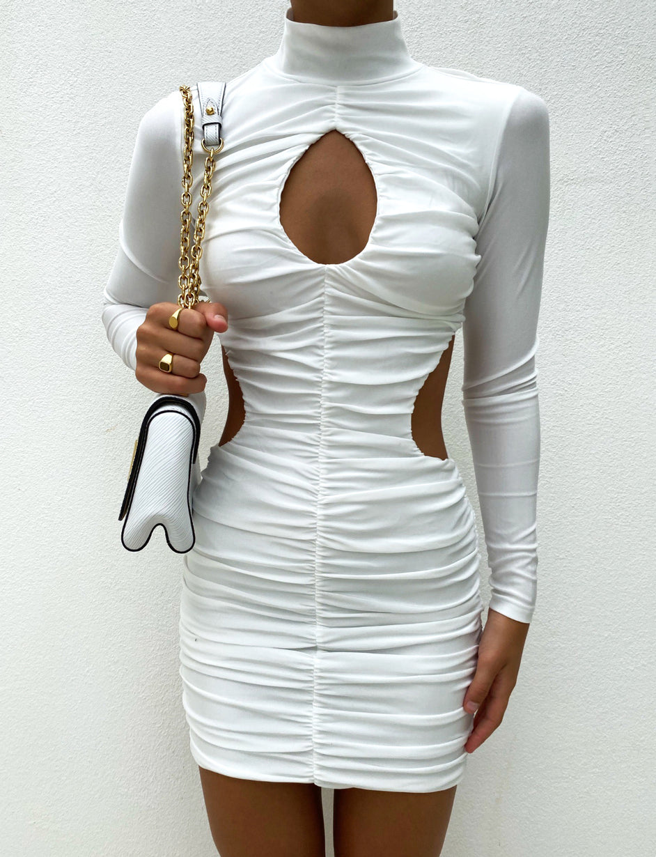 DAINA DRESS - WHITE