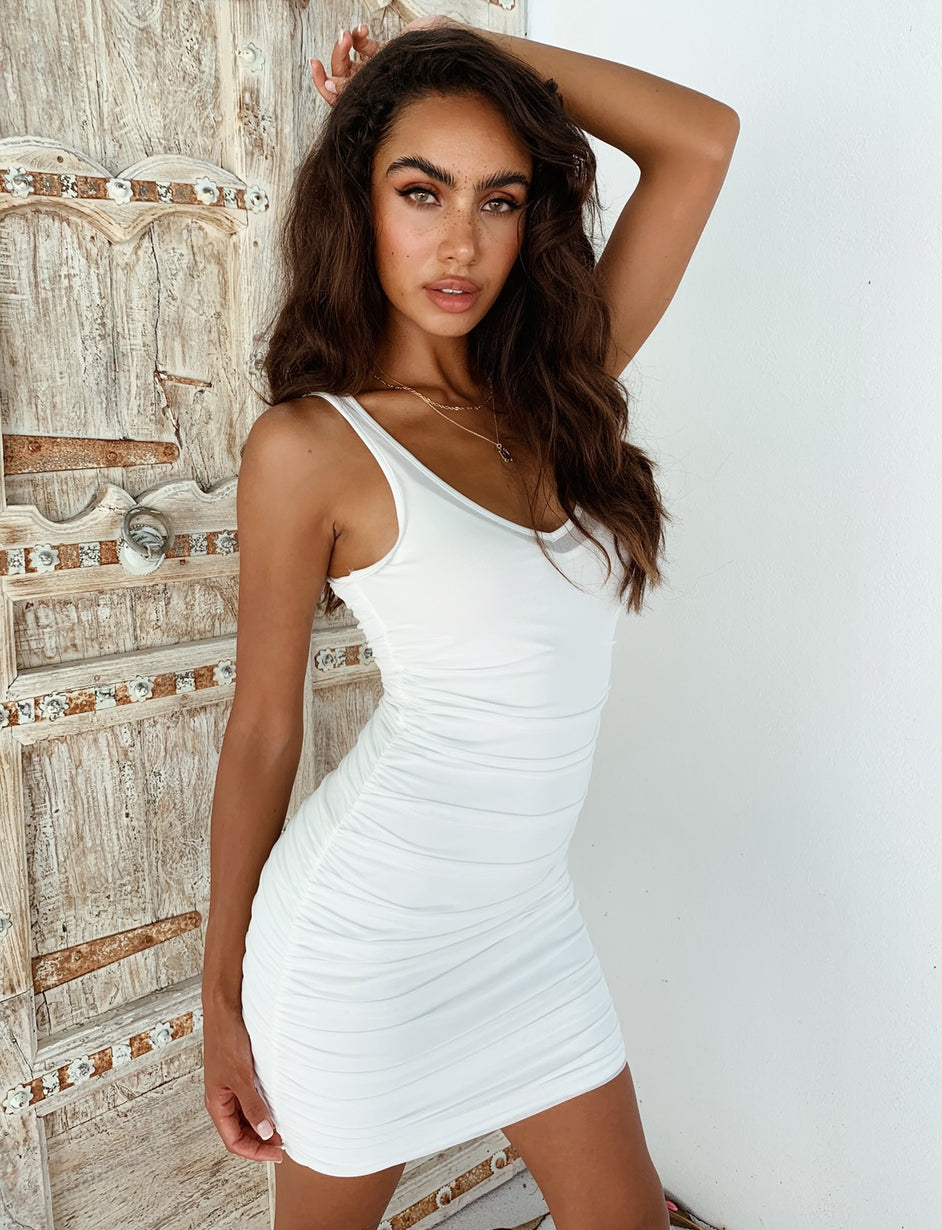 Loki Dress - White