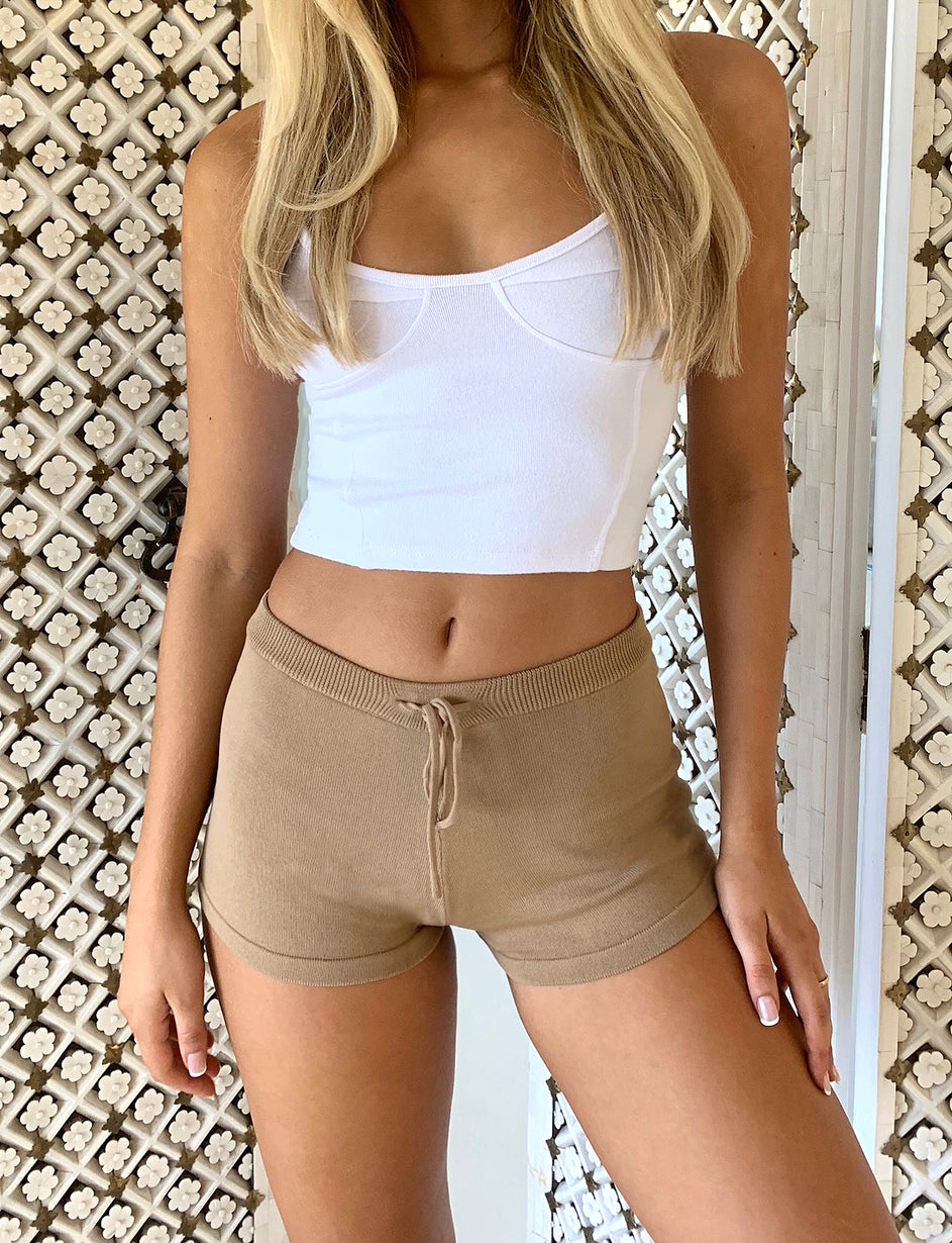 Fiorenza Short - Tan