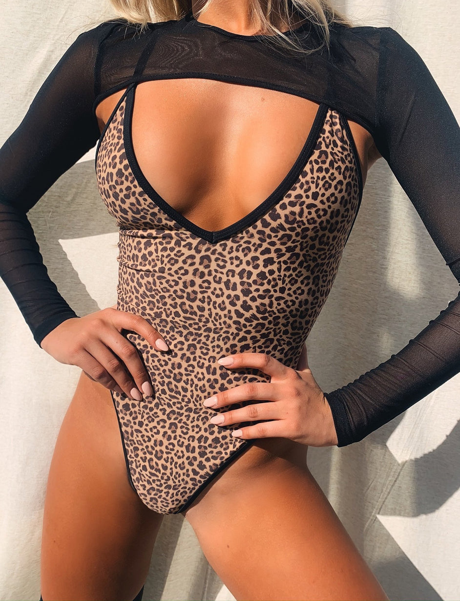 Shae Swim Suit - Leopard