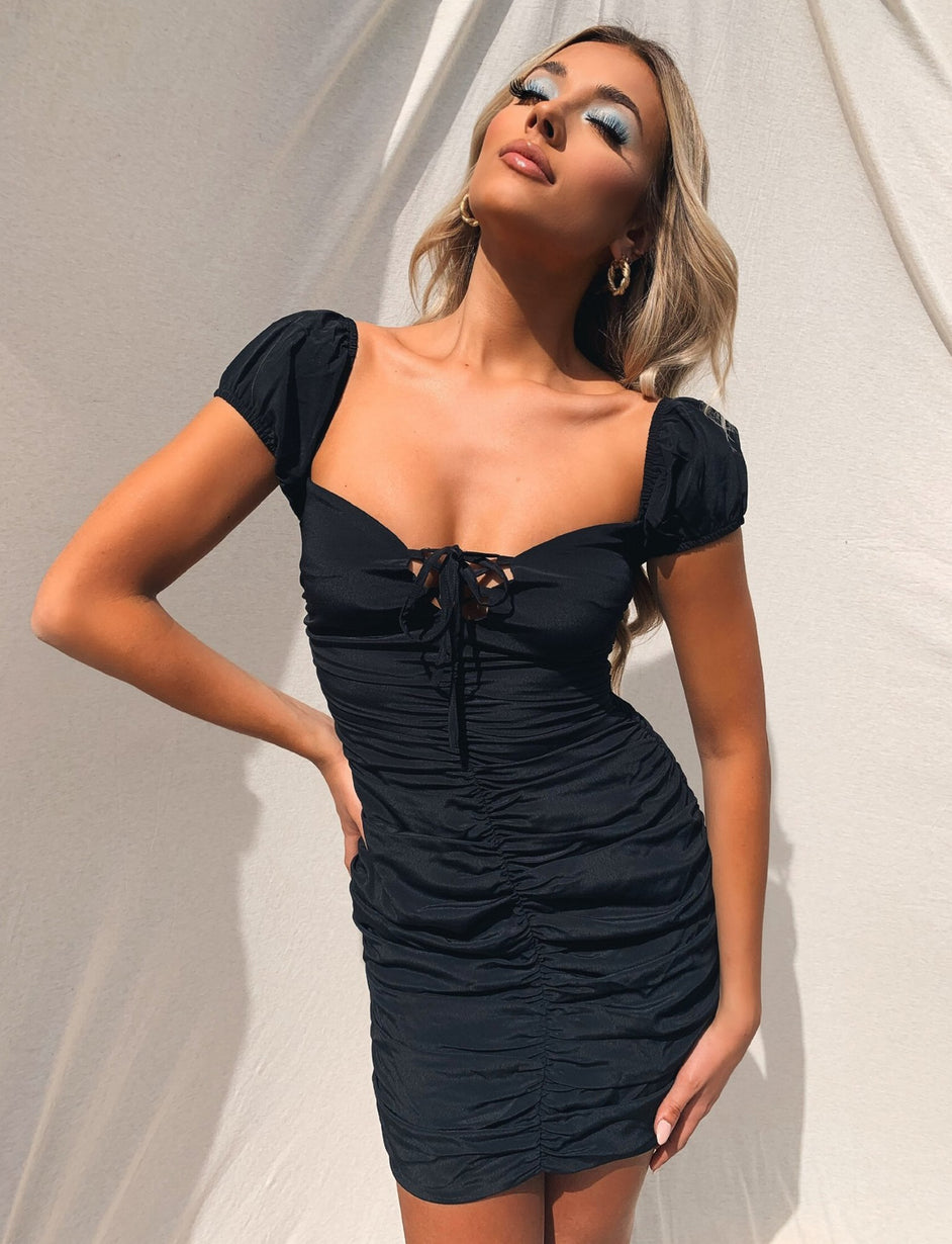 Cayden Dress - Black