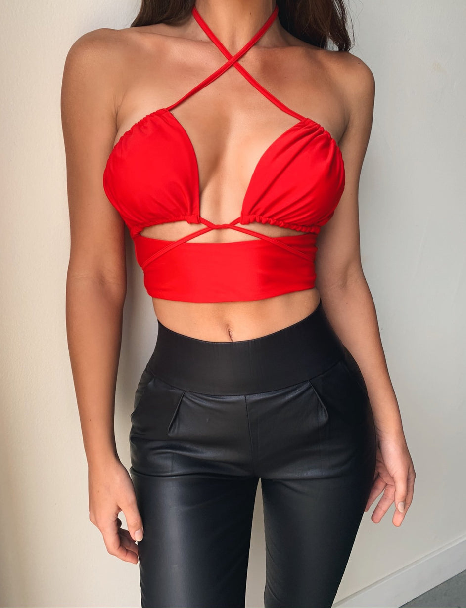 Harvey Top - Red
