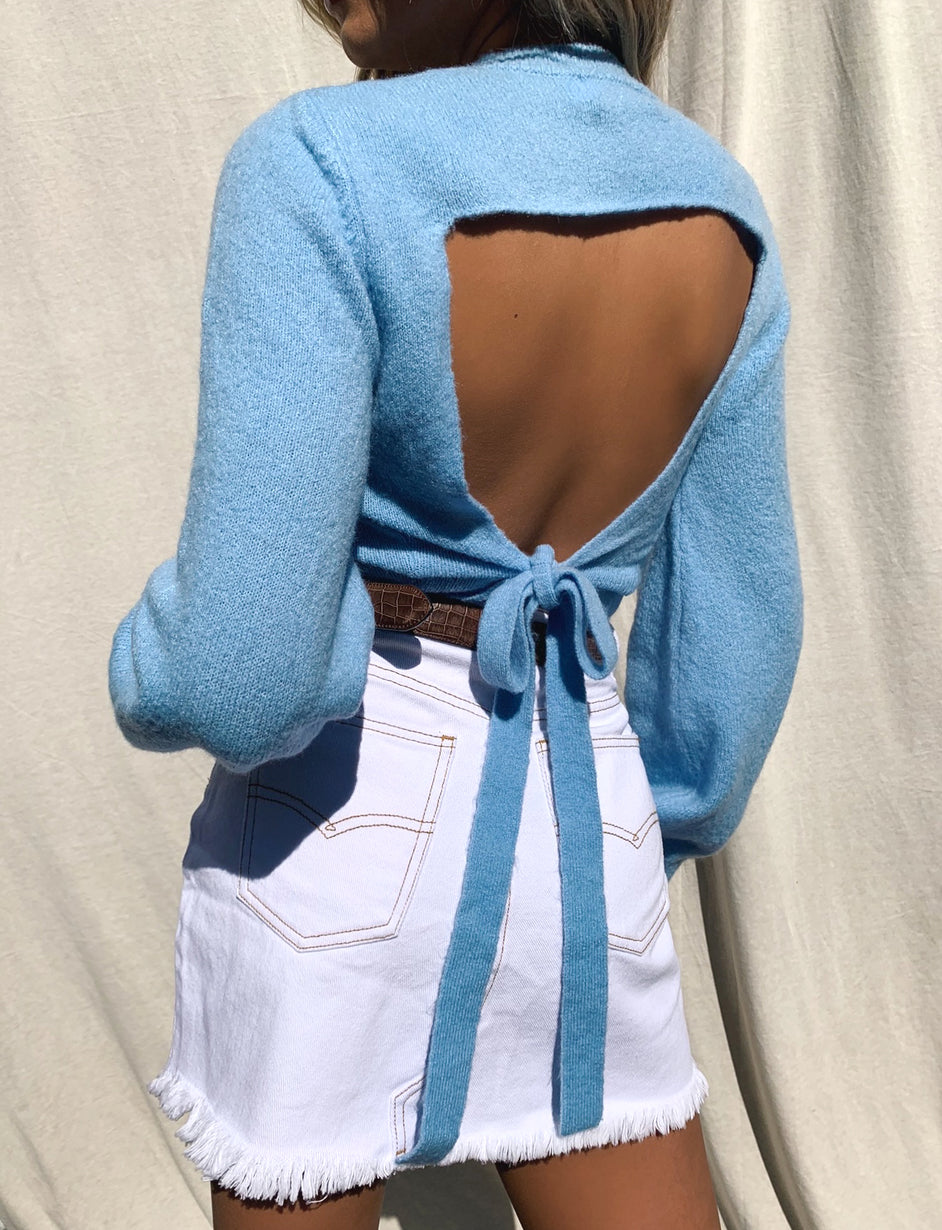 Ariel Jumper - Blue